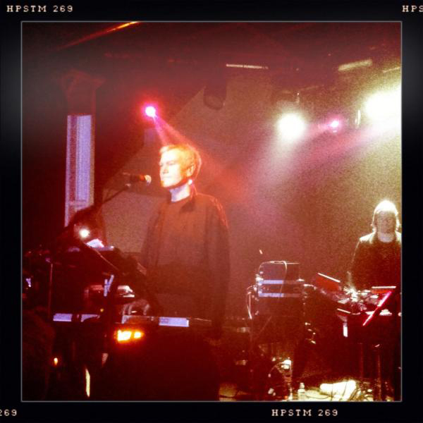 John Foxx and The Maths live at XOYO in London
